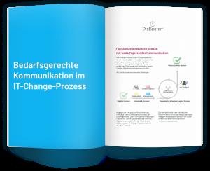 Konzept: Bedarfsgerechte Kommunikation im IT-Change-Prozess