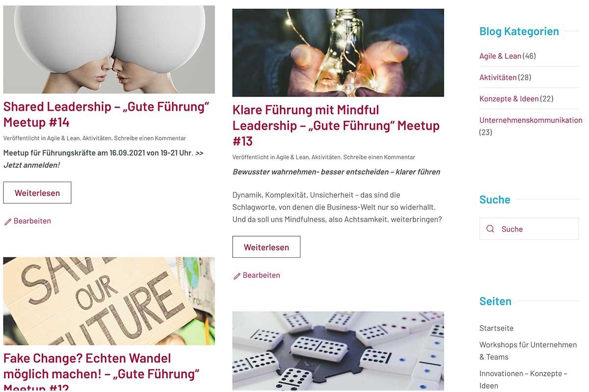 Blog: Agile Unternehmenskommunikation